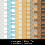 Kitty Cat Extra Paper Pack-$1.99 (Lindsay Jane)