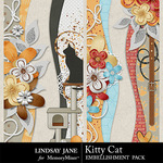 Kitty Cat Border Pack-$1.99 (Lindsay Jane)