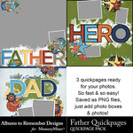 Father ATR QuickPage Pack-$2.49 (Albums to Remember)
