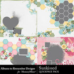 Sunkissed QuickPages-$2.10 (Albums to Remember)