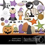 Spookie Dookie Embellishment Pack-$3.50 (Karen Lewis)