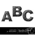 Spookie Dookie Alphabet Pack-$1.00 (Karen Lewis)