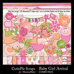 Baby Girl Arrival Combo Pack-$4.99 (CutiePie Scraps)