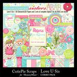 Love U Sis Combo Pack-$4.99 (CutiePie Scraps)