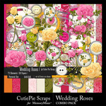 Wedding Roses Combo Pack-$4.99 (CutiePie Scraps)