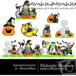 Midnight Monsters Embellishment Pack-$3.00 (Tara Reed Designs)