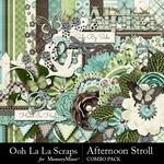 Afternoon Stroll Combo Pack-$4.99 (Ooh La La Scraps)