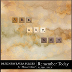 Remember Today Alphabet Pack-$2.80 (Laura Burger)