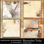 Remember Today Stacked Paper Pack-$3.49 (Laura Burger)