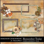 Remember Today Cluster Frames Pack-$3.49 (Laura Burger)