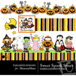 Sweet Spook Street Embellishment Pack-$3.00 (Tara Reed Designs)