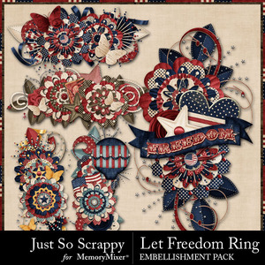 Let freedom ring clusters medium