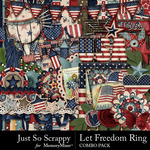 Let Freedom Ring Combo Pack-$3.49 (Just So Scrappy)