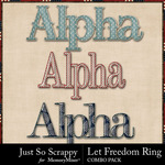 Let freedom ring kit alphas small