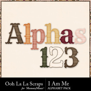 I am me alphabets medium