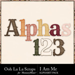 I Am Me Alphabet Pack-$3.49 (Ooh La La Scraps)