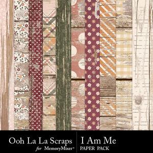 I am me worn wood papers medium