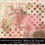 Believe in Yourself Brushwork Pack-$3.99 (Laura Burger)