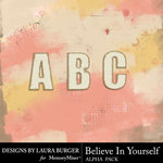 Believe in Yourself Alphabet Pack-$1.99 (Laura Burger)