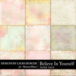 Believe in Yourself Paper Pack-$3.99 (Laura Burger)