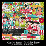 Birthday Party CPS Combo Pack-$4.99 (CutiePie Scraps)