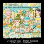 Beach Paradise  Combo Pack-$4.99 (CutiePie Scraps)