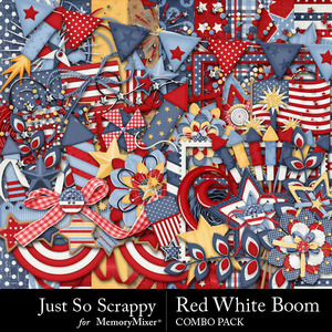 Red white and boom kit medium