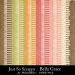 Bella Grace Paper Pack-$1.99 (Just So Scrappy)