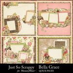 Bella Grace Quick Pages-$1.99 (Just So Scrappy)