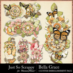 Bella Grace Cluster Pack-$1.99 (Just So Scrappy)