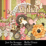 Bella Grace Add On Mini Kit-$3.49 (Just So Scrappy)