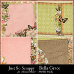 Bella grace stacked papers small