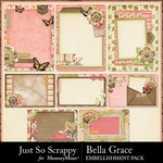 Bella Grace Journal Pocket Cards-$1.99 (Just So Scrappy)