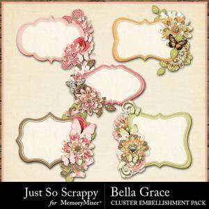 Bella grace journal cluster cards medium