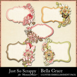 Bella Grace Journal Cluster Cards-$1.99 (Just So Scrappy)