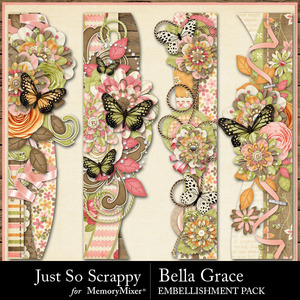 Bella grace page borders medium