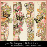 Bella Grace Page Borders Pack-$1.99 (Just So Scrappy)