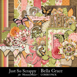 Bella Grace Combo Pack-$4.99 (Just So Scrappy)