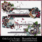 Beautiful Soul Cluster Stitches Pack-$1.99 (Ooh La La Scraps)
