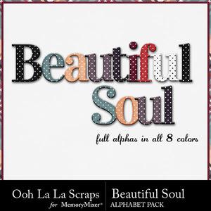Beautiful soul alphabets medium
