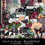 Beautiful Soul Combo Pack-$4.99 (Ooh La La Scraps)