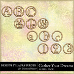 Gather Your Dreams Alphabet Pack-$3.99 (Laura Burger)