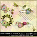 Gather Your Dreams Cluster Pack-$4.99 (Laura Burger)