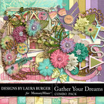Gather Your Dreams Combo Pack-$8.99 (Laura Burger)