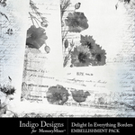 Delight In Everything Border Pack-$3.49 (Indigo Designs)