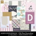 Oh Deer Journaling Pack-$2.99 (Karen Lewis)