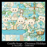 Christmas Holidays CPS Combo Pack-$5.99 (CutiePie Scraps)