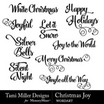 Christmas joy wordart small