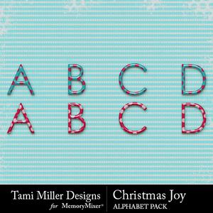 Christmas joy alpha medium