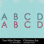 Christmas Joy TM Alphabet Pack-$1.49 (Tami Miller)